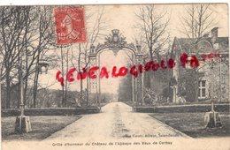 78 - VAUX DE CERNAY - GRILLE D' HONNEUR DU CHATEAU DE L' ABBAYE - 1910 - Vaux De Cernay