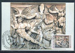 Grèce - Carte Maximum 1968 - Art Grecque - Cartes-maximum (CM)