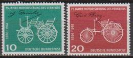 BRD 1961 MiNr. 363 - 364 ** Postfr. 75 Jahre Motorisierung Des Verkehrs ( 6869 )günstige Versandkosten - BRD