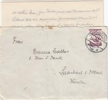 ÖSTERREICH 1925 - Beleg Mit MiNr: 456 Mit Inhalt - 1918-1945 1. Republik