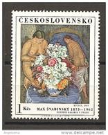 CECOSLOVACCHIA - 1972 MAX SVABINSKY Bouquet Di Fiori Nuovo** MNH - Flora