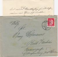 ÖSTERREICH 1942 - Beleg Mit MiNr: 827 (ANK) Wienstempel Und Perfin Mit Inhalt - 1918-1945 1. Republik