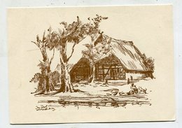 PAINTING / ART - AK 326288 Herbert Bartholomäus - Im Dorf Mecklenburg - Pittura & Quadri