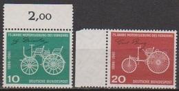 BRD 1961 MiNr. 363 - 364 ** Postfr. 75 Jahre Motorisierung Des Verkehrs ( 6873 )günstige Versandkosten - BRD