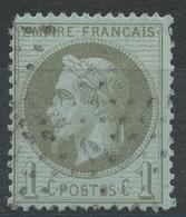Lot N°43268   N°25, Oblit étoile Chiffrer 1 De PARIS (Pl De La Bourse) - 1863-1870 Napoleon III With Laurels