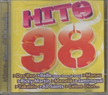 CD. HITS 98. Des'Ree - Belle - Manau - Ricky Martin - Jamiroquai - Céline Dion & The Bee Gees - Maria Carey - Will Smith - Compilations