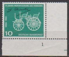 BRD 1961 MiNr. 363 Formnr. ** Postfr. 75 Jahre Motorisierung Des Verkehrs ( 6874 )günstige Versandkosten - BRD