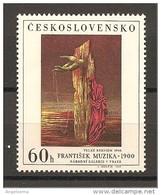CECOSLOVACCHIA - 1969 FRANTISEK MUZIKA Grande Requiem Nuovo** MNH - Moderni