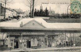 CPA - HYMONT (88) - Aspect De La Gare De Hymont-Mattaincourt En 1906 - Multivues - France