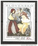 SLOVACCHIA - 2001 IMRICH WEINER KRAL Rakovo Nuovo** MNH - Moderni