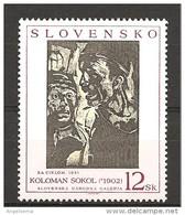 SLOVACCHIA - 1997 KOLOMAN SOKOL 2 Volti Nuovo** MNH - Moderni