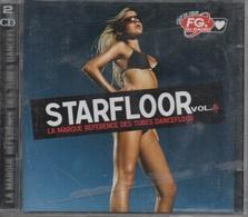 2 CD. STARFLOOR Vol.5 - La Marque Des Tubes Dancefloor. Bob Sinclar - David Guetta - Pakito - Tribal King - Mish Mash - - Compilations