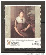 MESSICO - 1996 JOSE' MARIA VAZQUEZ Ritratto Di Donna Maria Luisa Gonzaga Nuovo** MNH - Case Reali