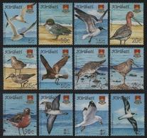 Kiribati 2008 - Mi-Nr. 1048-1059 ** - MNH - Vögel / Birds - Kiribati (1979-...)