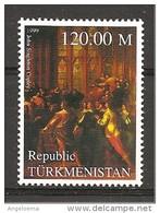 TURKMENISTAN - 1999 JOHN SINGLETON COPLEY Carlo I Nomina Membri Dl Parlamento Nuovo** MNH - Case Reali