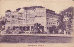 Singapore - Raffles Hotel      (180620) - Singapour