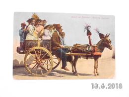 Saluti Da  Palermo. - Carretto Siciliano. (26 - 7 - 1908) - Palermo