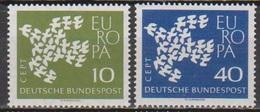 BRD 1961 MiNr. 367x - 368x ** Postfr. Europa ( 6876 )günstige Versandkosten - BRD