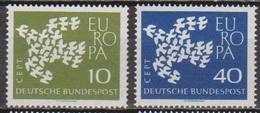 BRD 1961 MiNr. 367x - 368x ** Postfr. Europa ( 6877 )günstige Versandkosten - BRD