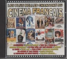 CD. LES PLUS BELLES CHANSONS DU CINEMA FRANCAIS. Richard SANDERSON - BOURVIL - Geneviève GRAD - Guy MARCHAND -Edith PIAF - Musique De Films