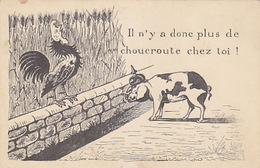 Il N'y A Donc Plus De Chouceroute Chez Toi!      (180620) - Humoristiques