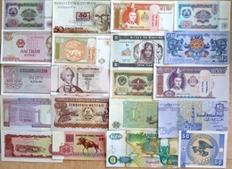 015 - LOT De 20 BILLETS ETRANGERS - SPL à NEUF - Banknoten