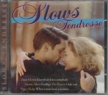 CD. Slows Tendresse. Morris ALBERT - Dean MARTIN - Percy SLEDGE - Sam COOKE - PLATTERS - Louis AMSTRONG - Al JARREAU - - Compilations