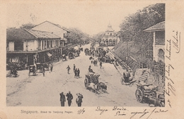 Singapore - Road To Tanjong Pagar 1902 - Singapore