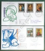 FDC Venetia - Vaticano 1971 - La Famiglia - Raccomandata Viaggiata - Francobolli