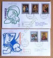 FDC Venetia - Vaticano 1971 - La Famiglia - Raccomandate Timbro Arrivo - Francobolli