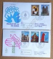 FDC Venetia - Vaticano 1970 - Paolo VI In Australia - Raccomandate Timbro Arrivo - Francobolli