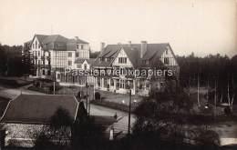 CARTE PHOTO ALLEMANDE  SPA    1918    HOTEL BALMORAL N°3 - Spa