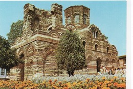 Bulgarie Nessèbre Animée L'Eglise Jésue-Christ Pantokrator - Bulgarie