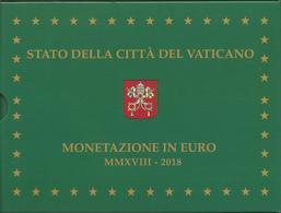Vaticano, Vatikan, 2018 Proof, Divisionale Euro 8 Vv. + 20 E. Argento, Confezione Zecca Fondo Specchio. - Vaticano (Ciudad Del)