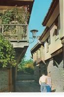 Bulgarie Nessèbre Animée Une Rue Typique Du Village - Bulgarie