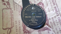 78T Chanson Espagnole La Banda Militar - Favorite Record - 78 T - Disques Pour Gramophone