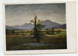 PAINTING / ART - AK 326345 Caspar David Friedrich - Einsamer Baum - Peintures & Tableaux