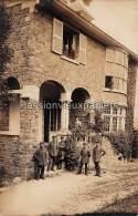 CARTE PHOTO ALLEMANDE  SPA    1918   VILLA  SOLDATS N°1 - Spa