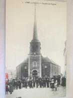C.P.A.- Ligné (44) - Façade De L'Eglise - 1920 - SPL (AC77) - Ligné