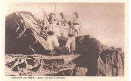 COLONIA ERITREA ASCARI DURANTE L'AVANZATA - Eritrea