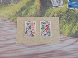 Timbre Neuf 1975 > N°1860/61 - Y&T - Croix Rouge, Automne & Printemps  - Coté 1,45 € - France