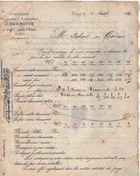 VP12.426 - Lettre - Vanneries Françaises & Etrangères J. BARBOTTE à WIMY ( Aisne ) - France