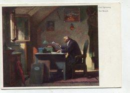 PAINTING / ART - AK 326353 Carl Spitzweg - Der Besuch - Malerei & Gemälde