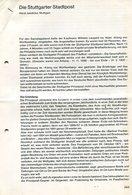 Literatur / Die Stuttgarter Stadtpost, 17 Seiten (11111-40) - Philatélie Et Histoire Postale