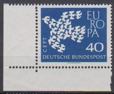 BRD 1961 MiNr. 368x ** Postfr. EUROPA ( 6892 )günstige Versandkosten - BRD