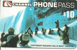 CARTE-µ-PREPAYEE-CHANNEL PASS-10$-NIAGARA FALLS-GRATTE-TBE- - Canada
