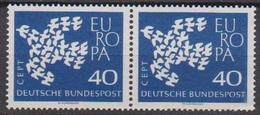 BRD 1961 MiNr. 368x Paar** Postfr. EUROPA ( 6894 )günstige Versandkosten - BRD