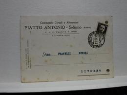 SOLESINO      --PADOVA  --  PIATTO ANTONIO  -- COMMERCIO  CEREALI - Padova (Padua)