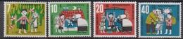 BRD 1961 MiNr. 369 - 372** Postfr. Wohlfahrt: Hänsel Und Gretel ( 6895 )günstige Versandkosten - BRD