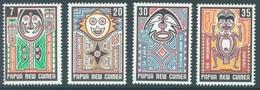 PAPUA NEW GUINEA - 1977 - MNH/** - FOLKLORE - Yv 332-335 - Lot 17194 - Papouasie-Nouvelle-Guinée